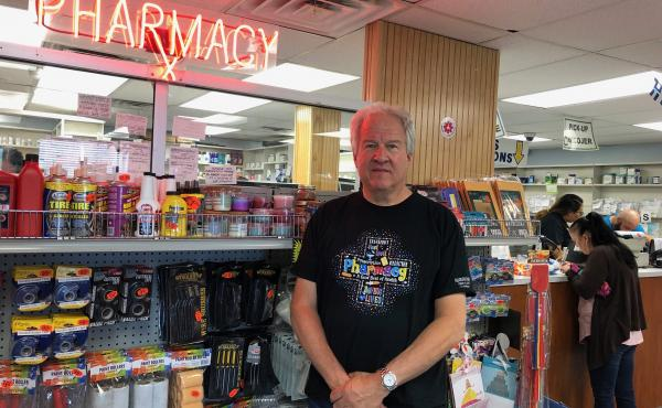 Richard Ost owns Philadelphia Pharmacy, in the city's Kensington neighborhood. He says he has stopped carrying Suboxone, for the most part, because the illegal market for the drug brought unwanted traffic to his store.
