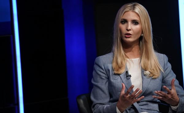 Ivanka Trump, White House adviser and daughter of President Trump, speaks during an Axios360 News Shapers event Thursday at the Newseum in Washington, D.C.