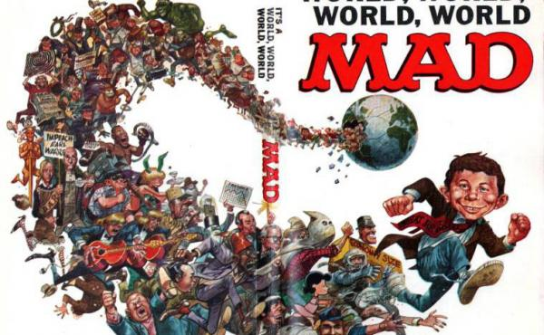 A cover for Mad magazine by artist Jack Davis.