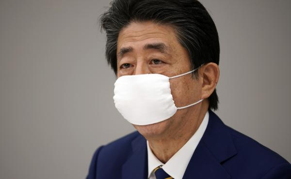 Prime Minister Shinzo Abe said the state of emergency will last until May 6, adding that the goal is for residents to limit contact with others by up to 80%.