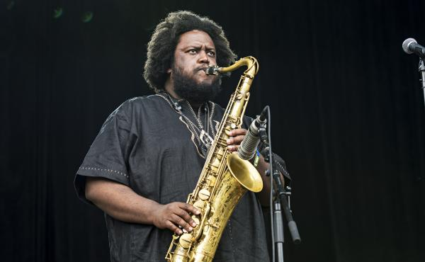 Kamasi Washington, a 37-year-old saxophone player from Los Angeles, is a major player in Nate Chinen's new book Playing Changes.