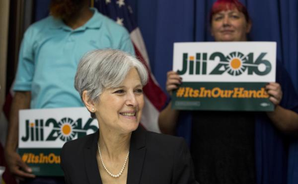 Jill Stein nabbed the Green Party nomination for her second presidential bid on Saturday, after running in 2012. She hopes the wave Sanders supporters will help make her a viable third-party challenger.