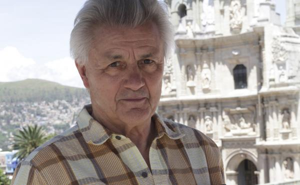 Author John Irving says his new book was inspired by photos of young circus performers in India and Mexico.