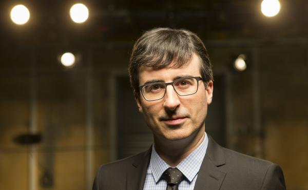 """John Oliver's new political satire Last Week Tonight airs on HBO. Oliver says the network gives him an almost """"confusing amount of freedom."""""""