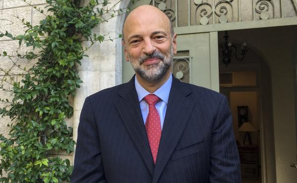 """From day one, any discussion of herd immunity or survival of the fittest or, you know, 'Say farewell to the elderly,' are the things that just did not sound right for us,"" Jordan's Prime Minister Omar Razzaz tells NPR. ""So we went for a very different mo"