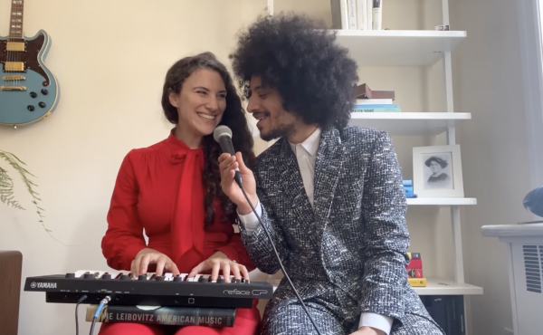José James and Taali perform from home.
