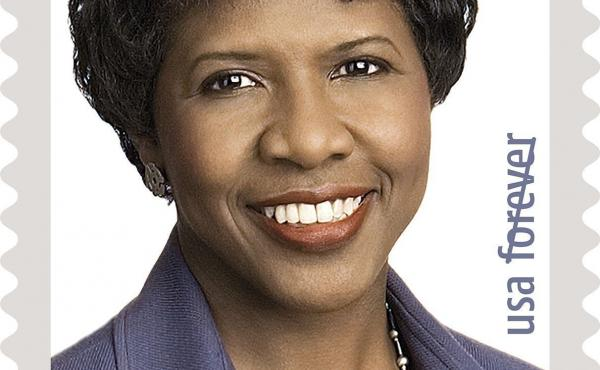 Gwen Ifill, one of the nation's most esteemed journalists, will be the face of the U.S. Post Office 43rd stamp in the Black Heritage series.