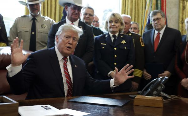 President Trump issued the first veto of his presidency in March, rejecting Congress' vote against his emergency declaration for border wall funding.