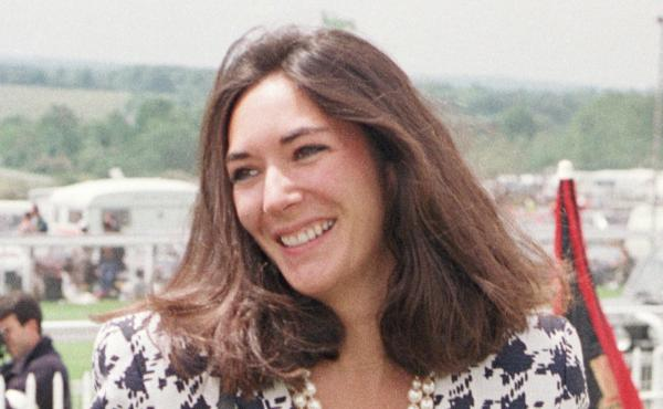 British socialite Ghislaine Maxwell, Jeffrey Epstein's former girlfriend, is pictured in 1991. She now faces multiple counts related to sex trafficking of minors and perjury. She has pleaded not guilty.
