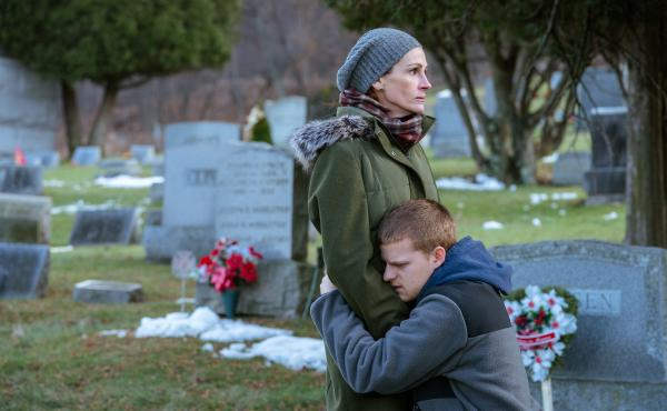 In Ben Is Back, Julia Roberts plays a mother whose son, an opioid addict, unexpectedly returns home on Christmas Eve.