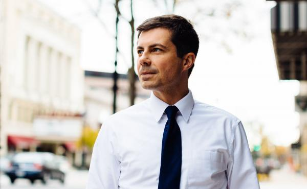 """We make sure that everybody can afford [public health insurance], but we don't require you to take it. And partly I think that's just the right policy, because I think people should be able to choose,"" Pete Buttigieg said."