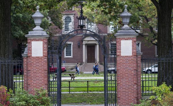 Williams College, seen here, is one of the institutions that reportedly received a letter from the Justice Department about communications with other colleges regarding students admitted via early decision.