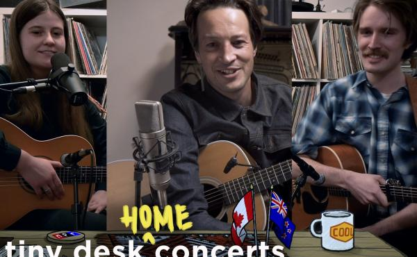 Kacy & Clayton and Marlon Williams perform a Tiny Desk (home) concert.