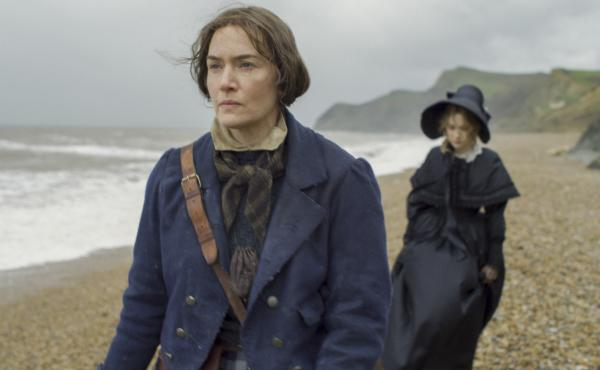 """""""I feel proud of myself now, as a 45-year-old woman, to have just played a role in which ... my age really shows on my face,"""" says Kate Winslet. She plays British paleontologist Mary Anning in the new film Ammonite."""
