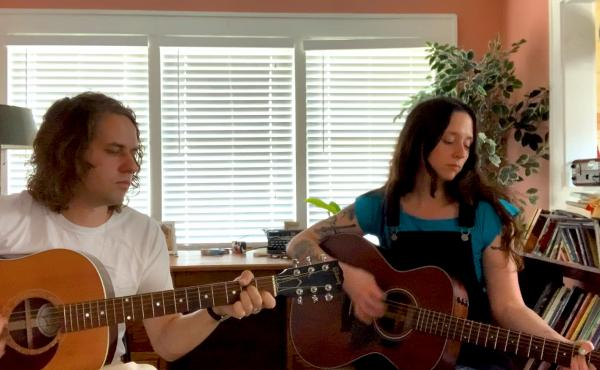 Kevin Morby and Waxahatchee play a Tiny Desk Home concert.