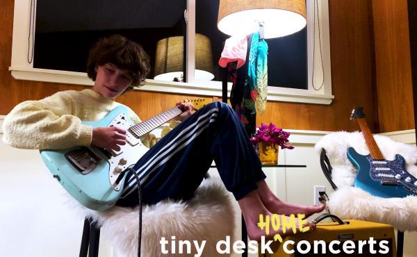 King Princess plays a Tiny Desk Home concert.