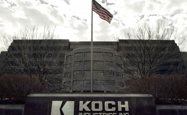 Koch Industries Inc. headquarters is pictured in Wichita, Kansas, on Nov. 14, 2005.