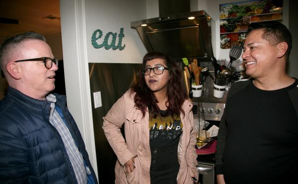 Phoenix residents (left to right) Brendan Mahoney, Jenni Vega and Tony Moya all felt shocked and scared on the night of the recent presidential election. They worry about their rights as LGBT people, but more so, they worry for others more vulnerable than
