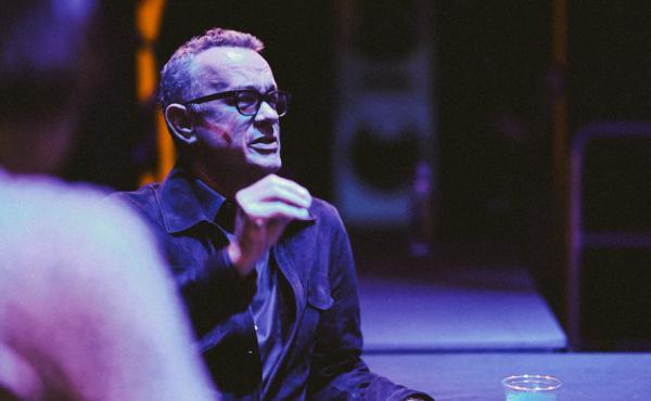 Tom Hanks, in conversation with NPR's David Greene in Los Angeles on Monday night.