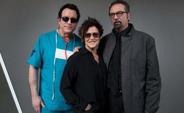 The Revolution, including (from left) Doctor Fink, Wendy Melvoin and Bobby Z., is on a tour this spring paying tribute to Prince.