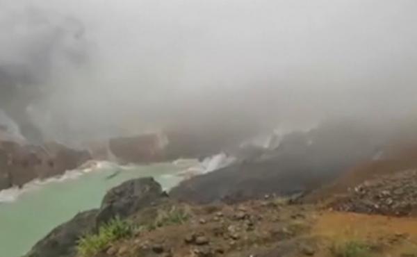 A landslide in Myanmar's northern Kachin state killed scores of people.