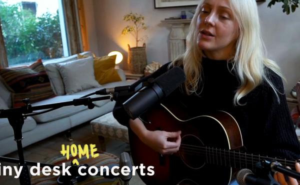 Laura Marling plays a Tiny Desk Home concert.