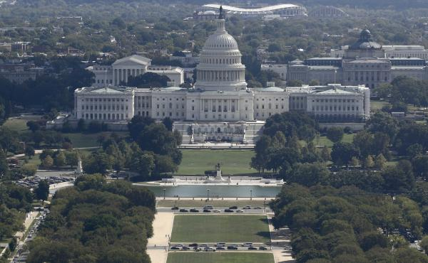 The U.S. Capitol building Tuesday.