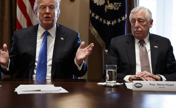 President Trump and House Minority Whip Steny Hoyer, D-Md., support reviving earmarks as a way for Washington to find more compromise.