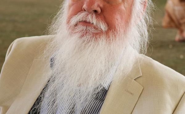 Leon Russell died in his sleep last night, his family says. The singer and songwriter had been planning to resume touring in January; he's seen here in 2011.