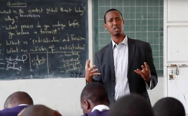 Ayub Mohamed is a nominee for the Global Teacher Prize, worth $1 million, given out by the Varkey Foundation.