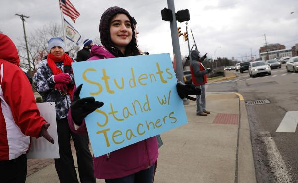 Statewide Teachers Strike In West Virginia  Continues For 7th Day