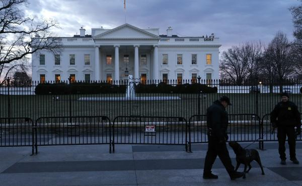 The Secret Service has confirmed that an envelope sent to the White House tested positive for cyanide. Further testing was underway.