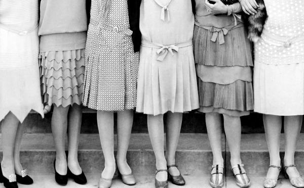 Young people today are getting ready to make the most of their youth by partying like these young women did back in the 1920s.