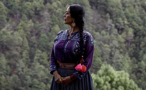 "Lila Downs' song for the Morning Edition Song Project,  ""Dark Eyes,"" honors essential workers who are often overlooked."