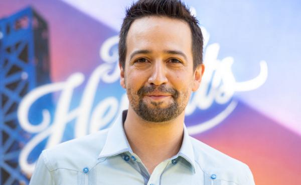 Lin-Manuel Miranda attends the opening night premiere of In the Heights at the Tribeca Film Festival last week in New York City.