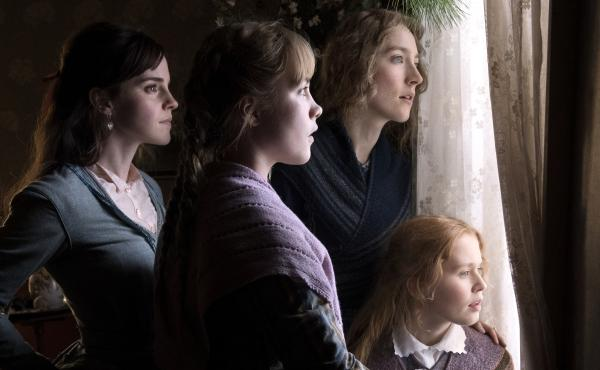March sisters Meg (Emma Watson), Amy (Florence Pugh), Jo (Saoirse Ronan) and Beth (Eliza Scanlen) return to the screen in a new adaptation of Little Women.