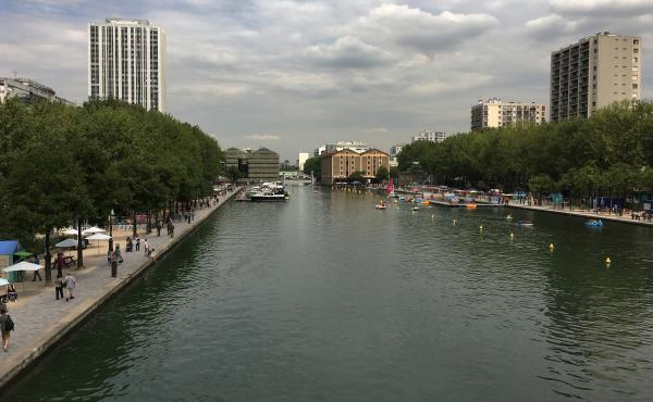 The Paris municipality opened the Canal De L'Ourcq to swimmers this summer. Mayor Anne Hidalgo wants to open three pools on the Seine River by 2024, when the city is scheduled to host the Olympics.