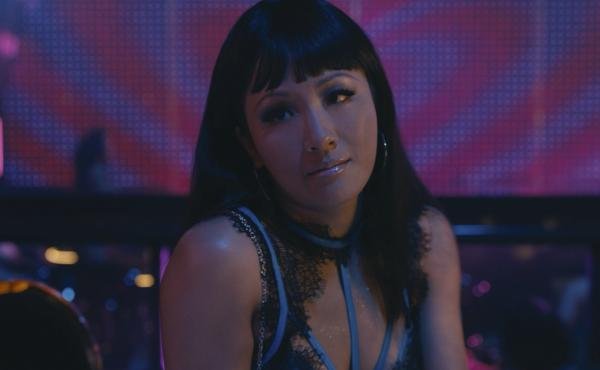 Constance Wu stars as Destiny in Hustlers, a movie about a group of strip club employees who unite to hustle wealthy men.