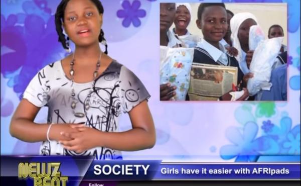 """Zoe Kabuye, 14, is a star """"rap-orter"""" on the rapping Ugandan show NewzBeat."""