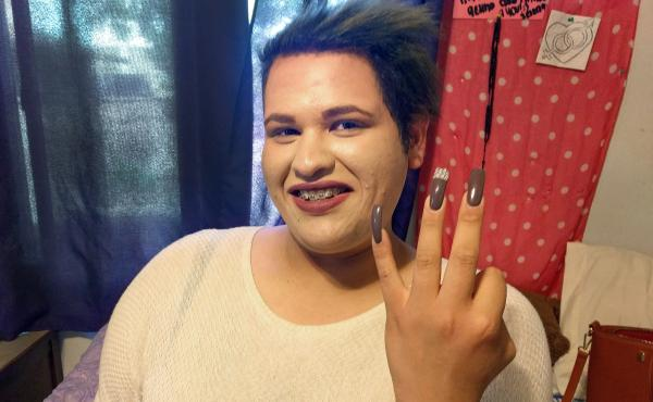 Juana Zacharias, 18, lives in a group home for foster children in Oxnard, Calif. She came out as transgender when she was 10; she entered the foster care system when she was 11, after her father was killed.