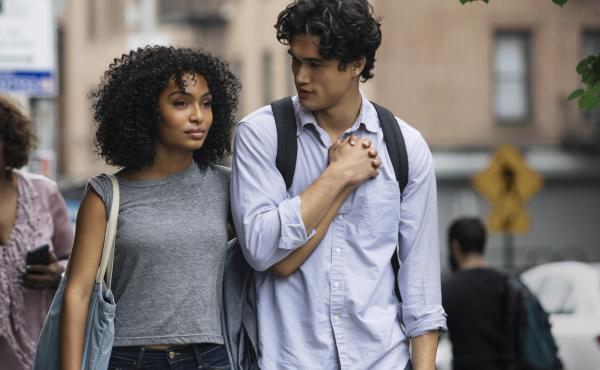 Natasha (Yara Shahidi) and Daniel (Charles Melton) fall in love over the course of a single day in the film adaptation of Nicola Yoon's young adult romance novel The Sun Is Also a Star.