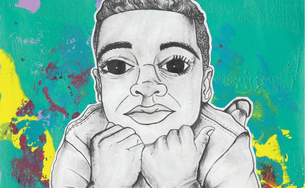 Myles Johnson and Kendrick Daye are raising money on Kickstarter to publish their children's book Large Fears.
