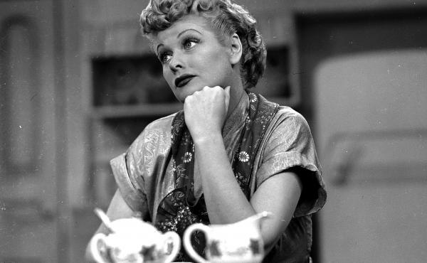 Lucille Ball is seen here in an episode of I Love Lucy. A sculpture of her in her hometown will be replaced with an improved version, according to the artist.