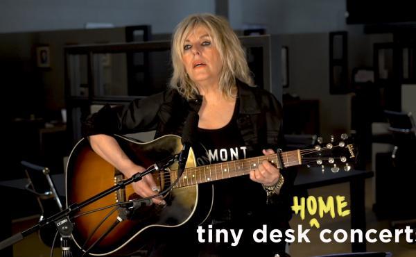 Lucinda Williams plays a Tiny Desk (home) concert.