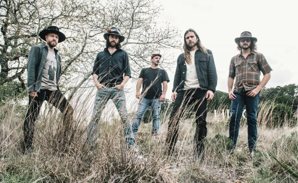 """Instead of touring to promote his new album Naked Garden, Lukas Nelson is at home on his father Willie Nelson's ranch. """"We're playing a lot of chess and dominoes. And we're writing music,"""" he says."""