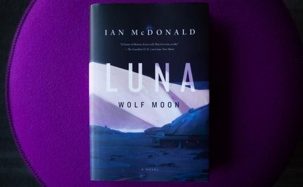 Luna Wolf Moon by Ian McDonald