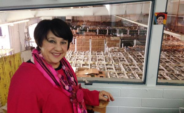 Yolanda Soto runs Borderlands Food Bank in Nogales, Ariz. Each year, the nonprofit rescues millions of pounds of nutritious and safe fruits and vegetables rejected near the U.S. border and redirects them to needy families across America.