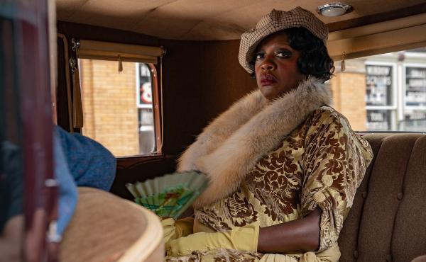 Viola Davis as Ma Rainey in Ma Rainey's Black Bottom.