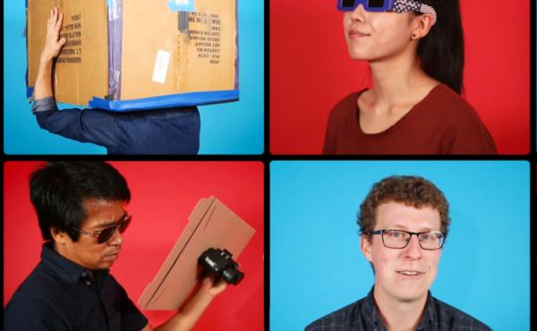 Watching the eclipse? Save your eyeballs — rig up a sweet viewing set-up with some help from this video.