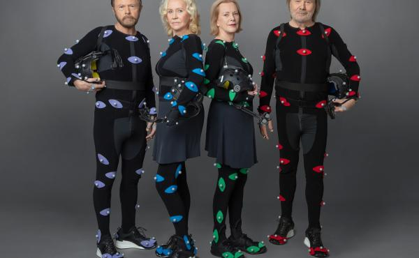 ABBA members Björn Ulvaeus, Agnetha Fältskog, Anni-Frid Lyngstad and Benny Andersson.